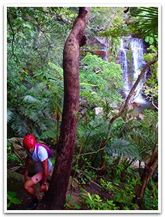 ゲータの滝サワートレッキングイメージ